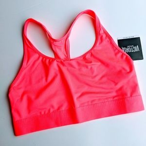 Victoria's secret neon pink sports bra size medium
